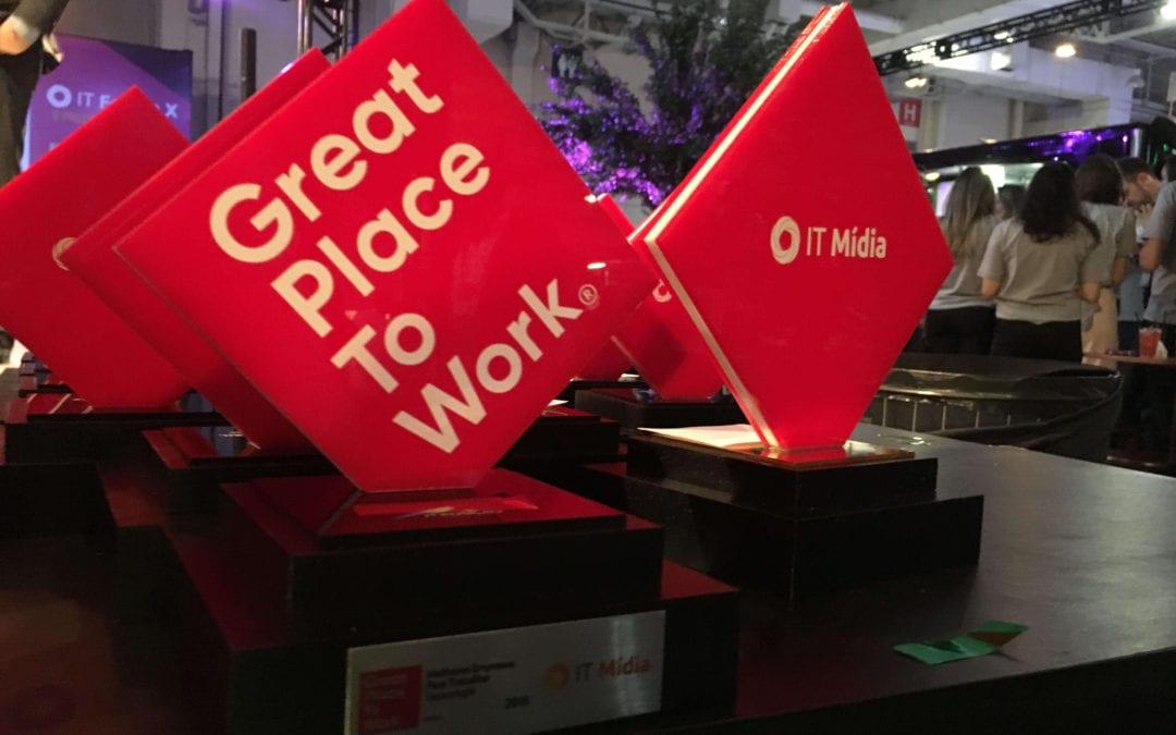 GPTW divulga melhores empresas de TI para trabalhar